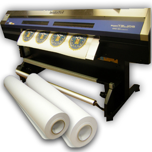 banner roll digital Solvent