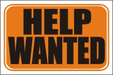 help wanted door signs, help wanted window signs, helpl wanted signs, help wanted sign
