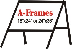 wire stand, frames, sign stand, steel frame, a frame
