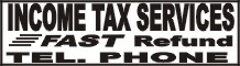 income tax services banner, banners, tax banners, income tax banners