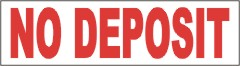 no deposit banner, pre printed apartment banners, apartment banners